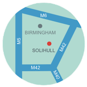 solihull map round